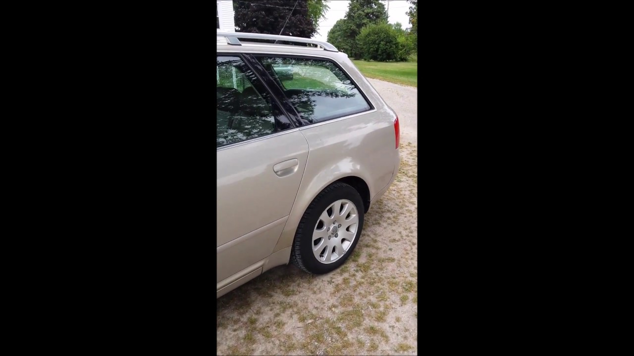 1999 audi A6 2 8L Quattro Transmission problem ( Limp Mode) fixed