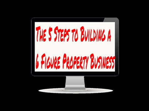 How To Build a £100K Property Business