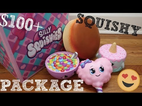 Download Youtube: MOST EXPENSIVE SQUISHY PACKAGE EVER?? Silly Squishies