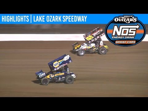 World of Outlaws NOS Energy Drink Sprint Cars Lake Ozark