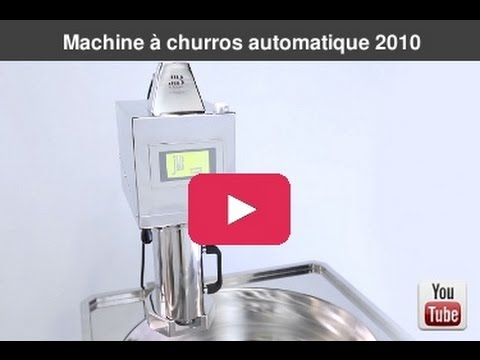 machine churros automatique 2010 youtube. Black Bedroom Furniture Sets. Home Design Ideas