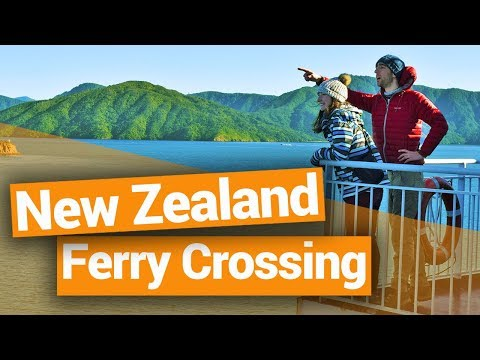 New Zealand Ferry Crossing from Wellington to Picton - New Zealand's Biggest Gap Year