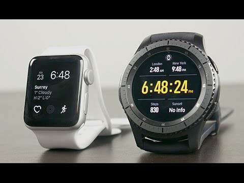 Apple Watch Series 2 vs Samsung Gear S3