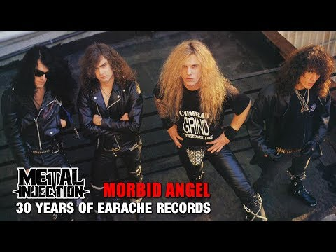 MORBID ANGEL Behind The Scenes - 30 Years Of Earache Records | Metal Injection