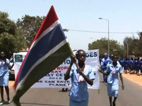 Gambia Girl Guides Association Thinking Day 2012