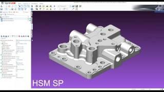 Высокоскоростная обработка в SprutCAM. Модули HSM AP и HSM SP
