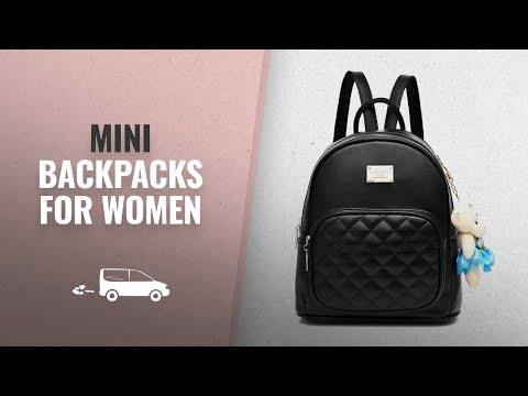 top-10-mini-backpacks-for-women-[2018]:-women-leather-backpack-purse-satchel-school-bags-casual