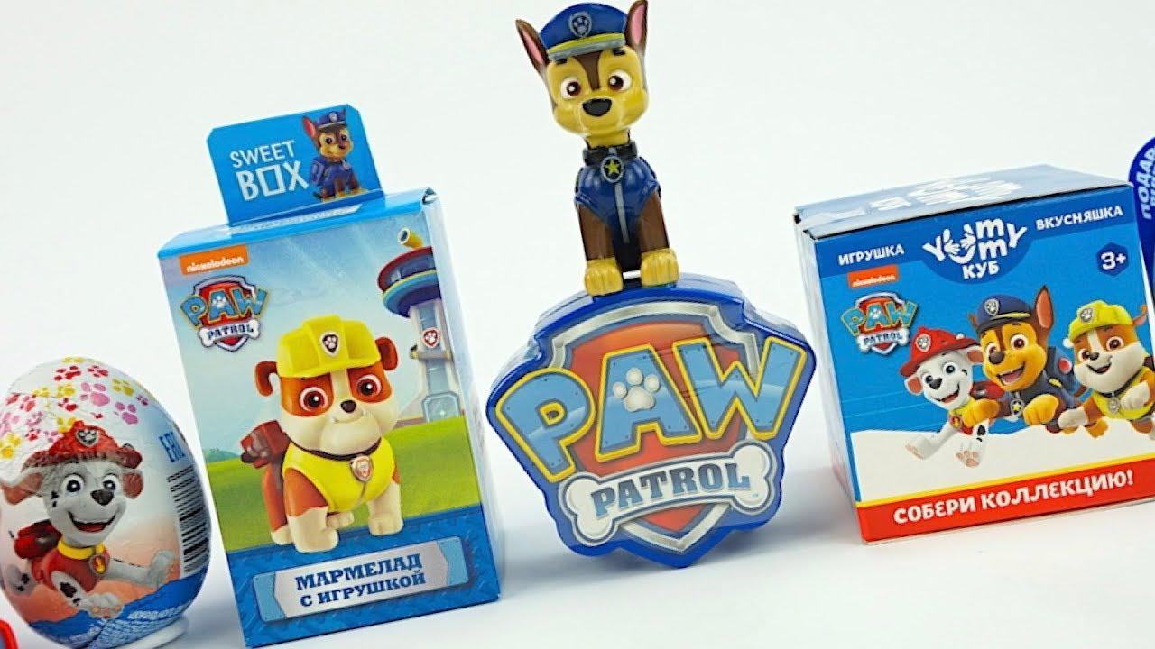 Щенячий Патруль новые сюрпризы и игрушки из мультиков