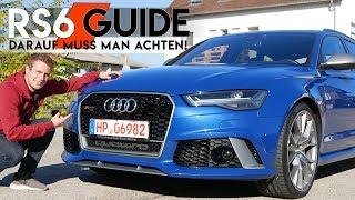 Audi RS6 GEBRAUCHT | Worauf muss ich achten? Audi RS6 Performance 2017 |  Fahr doch