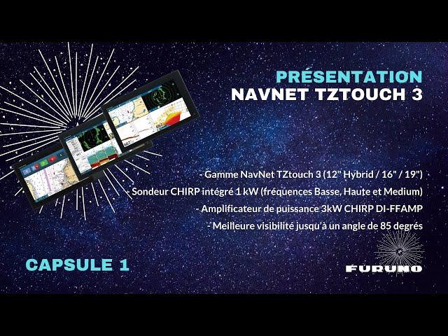Écran Multifonction NavNet TZtouch 3 | Gamme, Sondeur, Amplificateur, Affichage