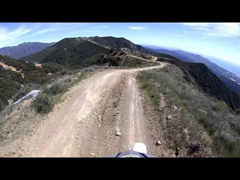 Divide Peak Trail, Santa Barbara, Ca.