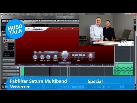 VST Plug in fürs Mixing - Fabfilter Saturn Multiband Verzerrer