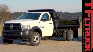 2016 Ram 5500 Dump Truck Dirt Hauling & Dumping Review