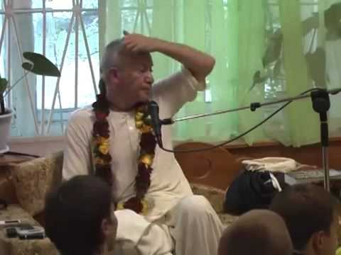 Бхагавад Гита 8.28 - Чайтанья Чандра Чаран прабху