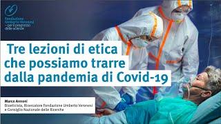 Tre lezioni di etica che possiamo trarre dalla pandemia di Covid-19