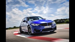 BMW M3 CS with BMW M CEO Frank Van Meel