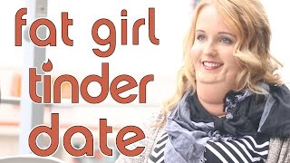 Repeat youtube video Fat Girl Tinder Date (Social Experiment)