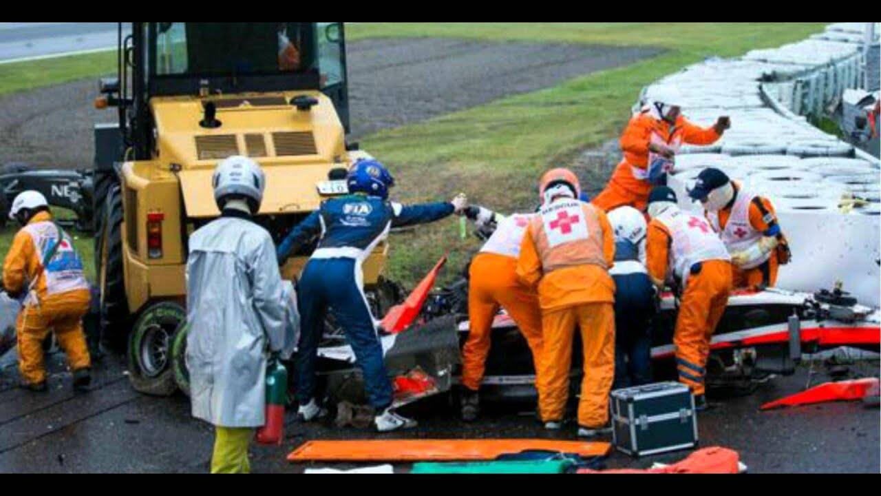 Jules Bianchi Unfall