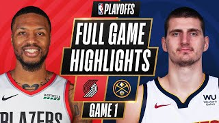 Download #6 TRAIL BLAZERS at #3 NUGGETS | FULL GAME HIGHLIGHTS | May 22, 2021