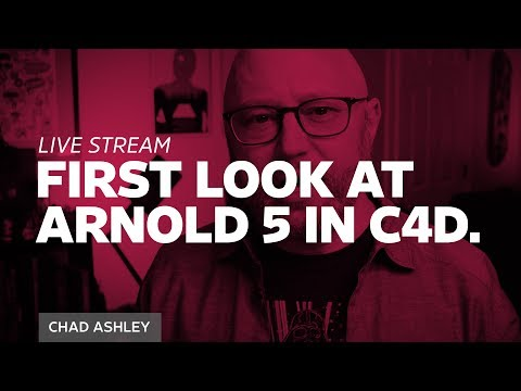 First Look at Arnold 5 in Cinema 4D
