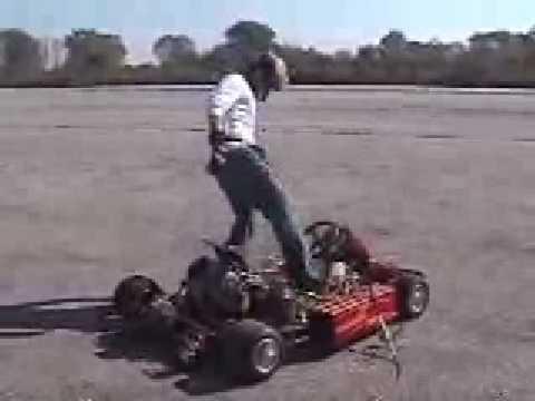 Gokart Vs  Ferrari