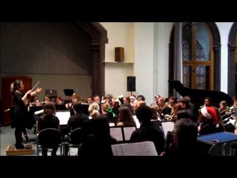 Glasgow University Music Club - Christmas Concert 2013 - Wind Band - Into the clouds