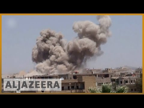 🇸🇾 UN says 45,000 fled Syrian army offensive against rebels in Deraa | Al Jazeera English