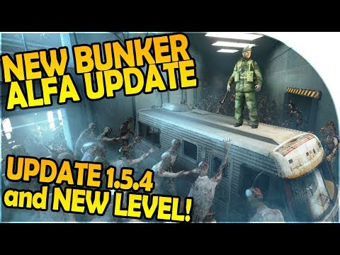 NEW ALPHA UPDATE - BUNKER ALFA VAULT UNDERGROUND LEVEL 2 - Last Day On Earth Survival 1.5.4 Update