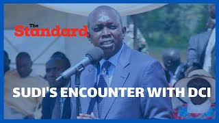 MP Oscar Sudi speaks on the grilling at DCI headquarters over NHIF millions