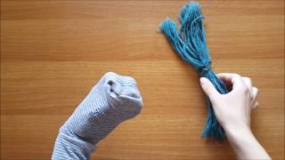 How to Make a Sock Puppet, From YouTubeVideos