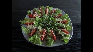 Закуска из листьев салата. Отличная закуска на на новогодний стол.