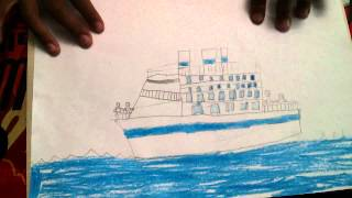Drawing of boats by Rafan