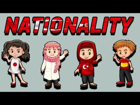 4.SINIF İNGİLİZCE 2.ÜNİTE KONU ANLATIMI VE KELİMELERİ | NATIONALITY | İNGİLİZCE MİLLETLER