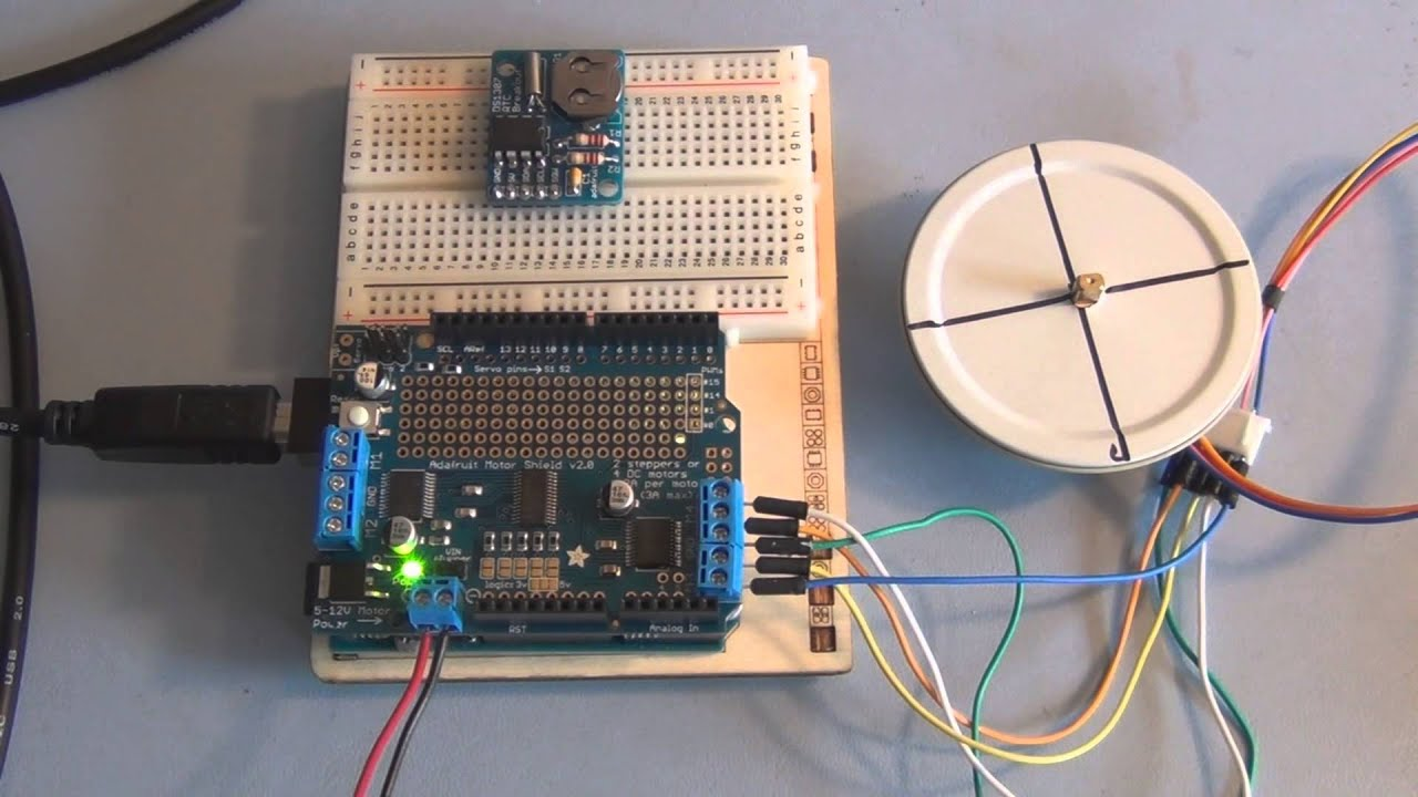 maxresdefault adafruit motor shield and arduino uno stepper motor tutorial youtube Single Phase Motor Wiring Diagrams at cos-gaming.co