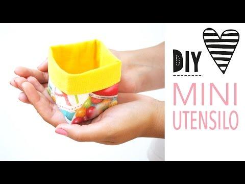 Mini-Utensilo nähen / DIY MODE Nähanleitung