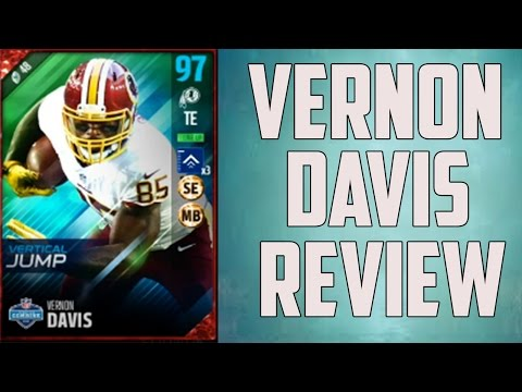 How Good is 96 Overall Vernon Davis? - Madden 17