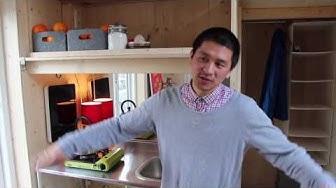 Tiny House: Van Bo Le-Mentzel stellt die 100-Euro-Wohnung vor