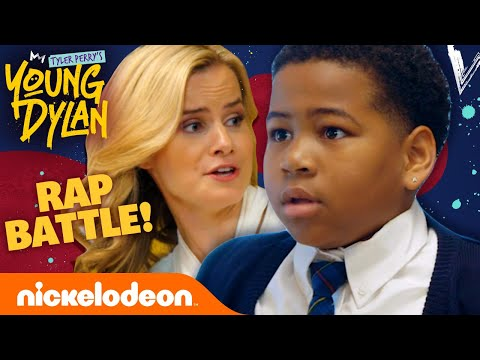 Dylan is Challenged to a Classroom RAP BATTLE! 🎤 Tyler Perry's Young Dylan
