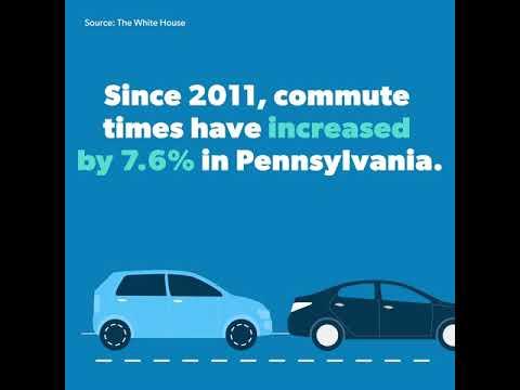 The American Jobs Plan - Bridges in Pennsylvania