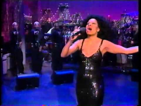 DIANA ROSS  I Will Survive on Letterman