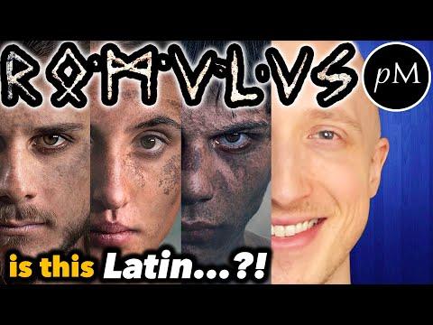 "Proto-Latin in ROMULUS ?! Is the ""Old Latin"" any good? (Sky Italia TV show)"