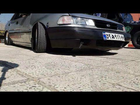 Hyundai Excel 1994 4-door Sedan MODIFIED, SLAMMED To The Ground, STRAIGHT PIPED!!!!