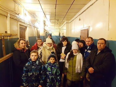 22 семьи вышвыривают на улицу зимой даже из гнилого барака