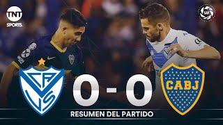 Resumen de Vélez Sarsfield vs Boca Juniors (0-0) | Fecha 13 - Superliga Argentina 2019/2020