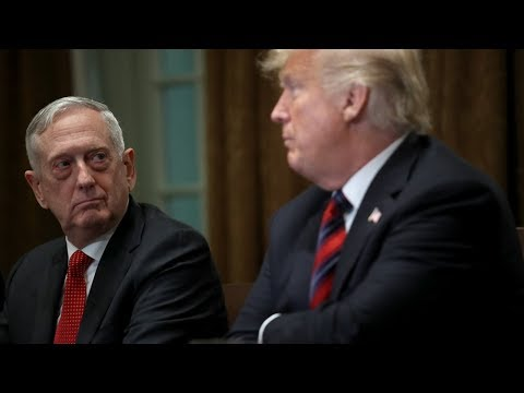 Глава Пентагона уйдёт с поста после решения Дональда Трампа вывести войска из Сирии