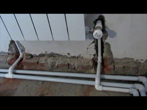 видео: ДВУХТРУБНАЯ ПОПУТНАЯ СИСТЕМА ОТОПЛЕНИЯ - своими руками!!!