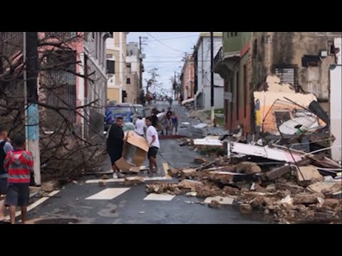 Catastrophic Damage in Puerto Rico After Maria