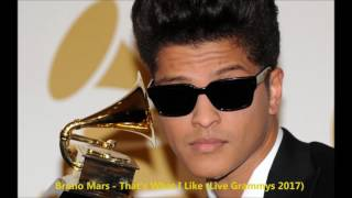Bruno Mars - That's What I Like (Live Grammys 2017) - HQ Audio