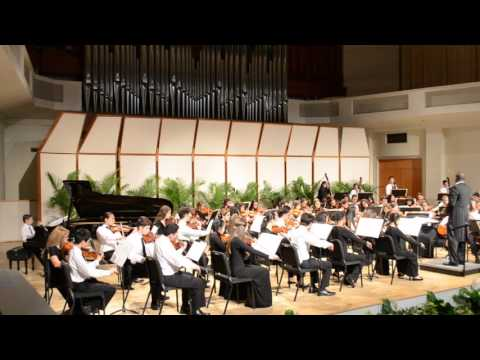 Barcarolle by Jacques Offenbach- Brandon playing with Honors Orchestra at Superintendent's Festival