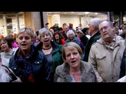 Lancaster Flashmob Messiah